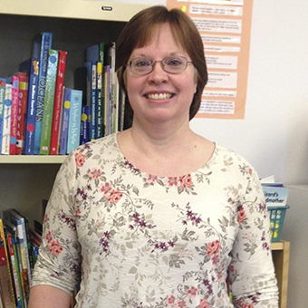 Kathy Pittman, NHR Kindergarten Teacher's Aide
