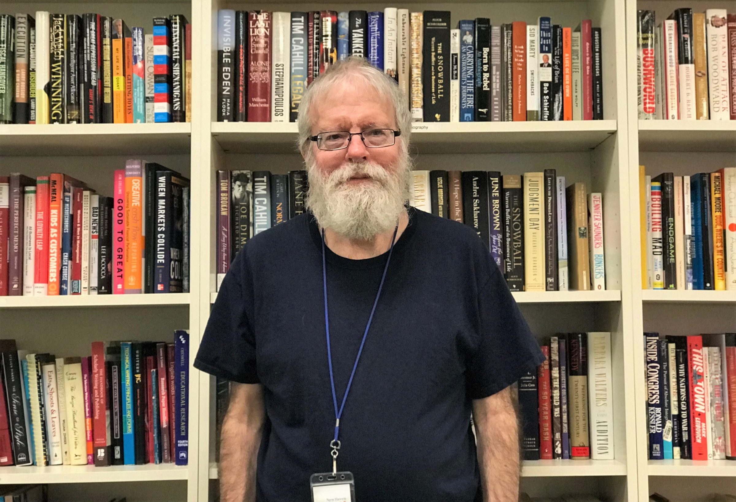 Mike O'Brien, NHR volunteer